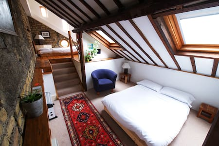 Long Loft Room at The Bastion - Athlone - Radhus