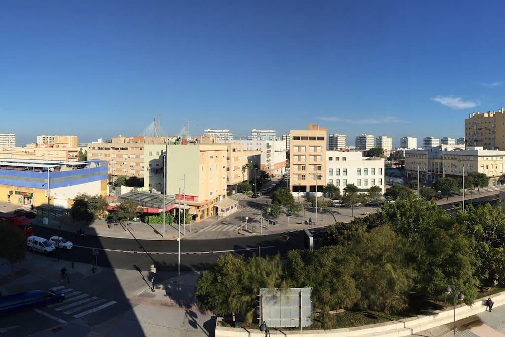 View from the balcony / Vistas desde el balcón