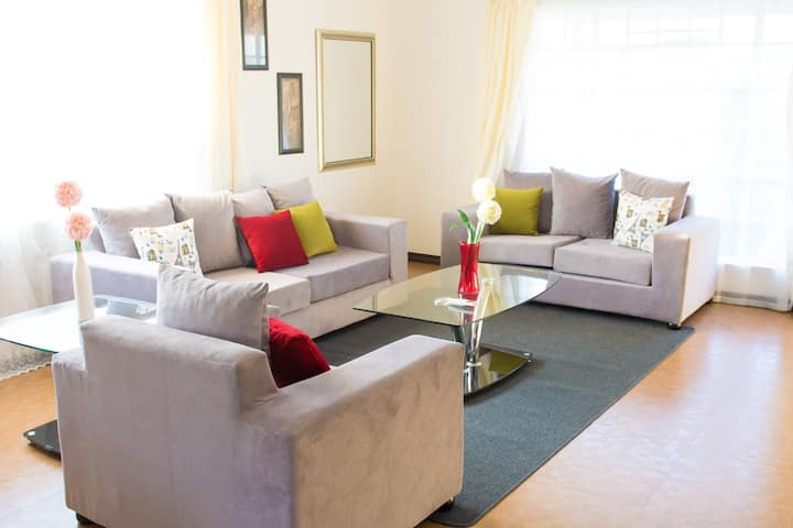 Crystal Three  bedrooms Modern Serviced Apartment