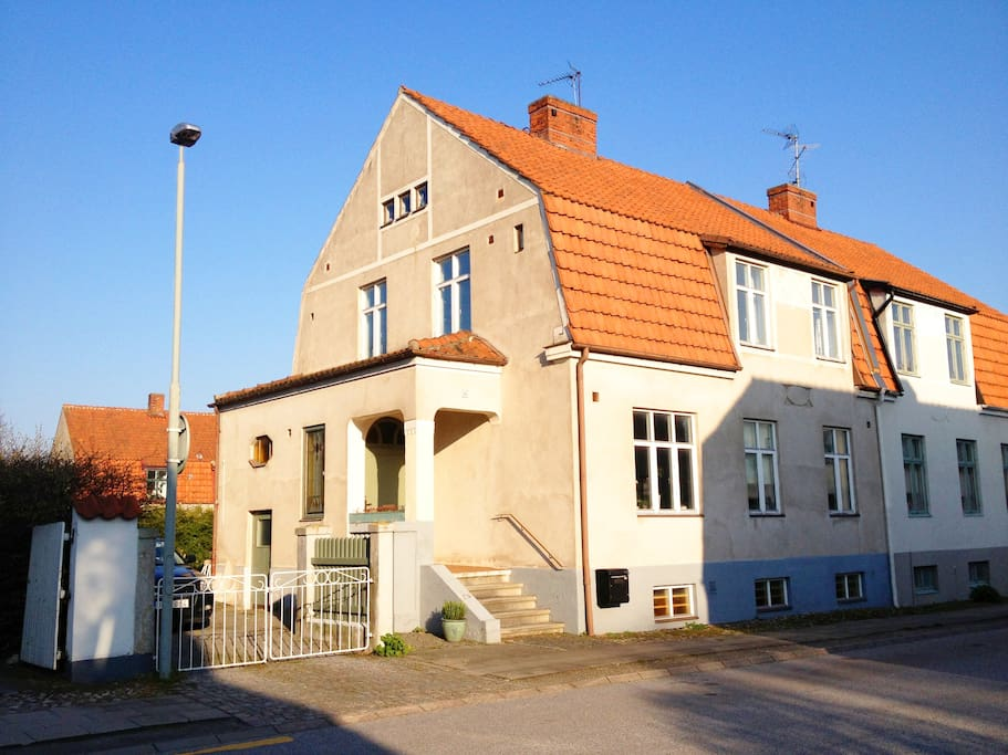 Our lovely house in a calm neighbourhood close to the centre of Ystad