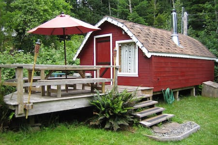 KEMA Waterfront Cabin on Hornby Is. - Hornby Island - 小木屋