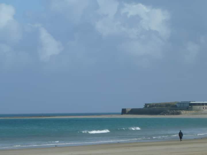 Agréable maison proche de la plage