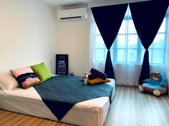 4pax Tatami Room #Malacca#Encore Melaka#New#Wifi