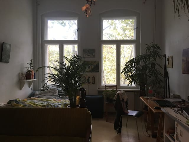 Big Room, near Alexanderplatz and the Weißensee.