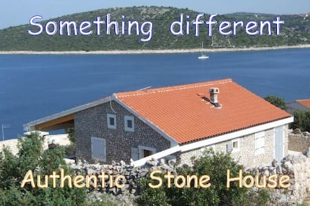 Stone House 2BR, Sea-view, Swimming pool, Sevid