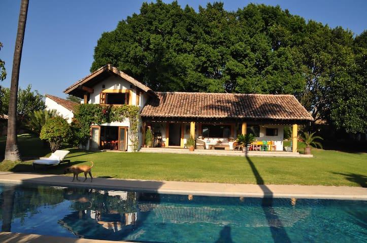 Preciosa casa de descanso, Morelos - Tetecala de Las Reformas
