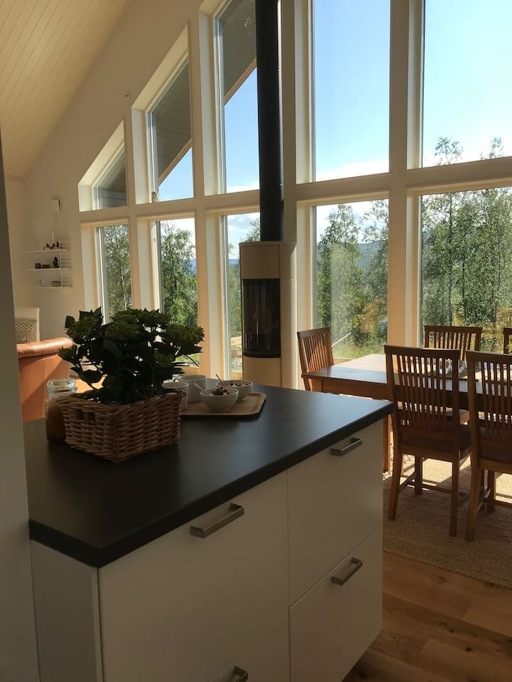 New holiday home in beautiful surroundings