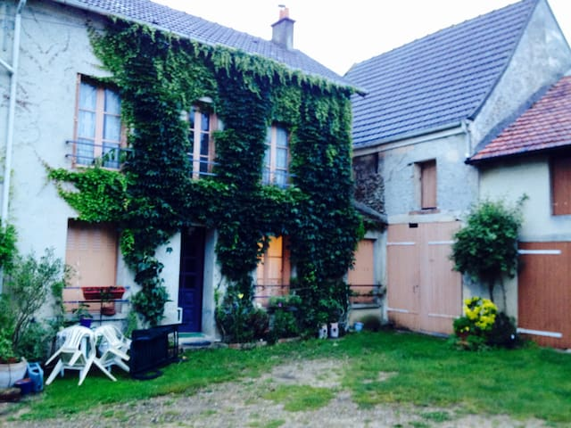 room in country house - Courcelles sous jouarre - Casa