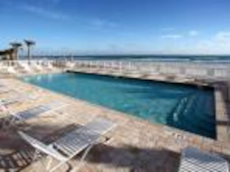 Oceanfront Heated Pool and Hot Tub