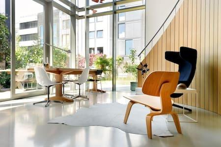 Modern villa in Amsterdam IJburg - アムステルダム