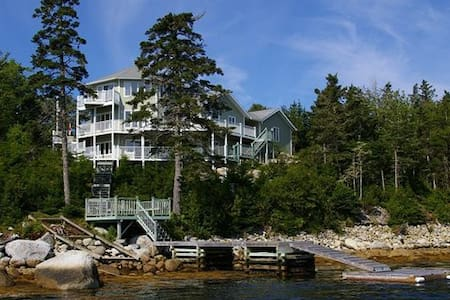 Large ocean frontage nr Halifax, NS - Prospect - House