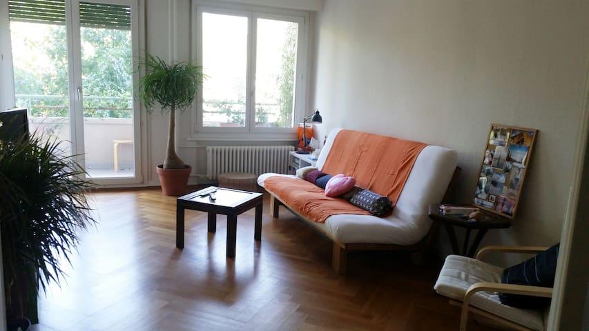 Grand appartement avec balcon Genève - Carouge - Apartment