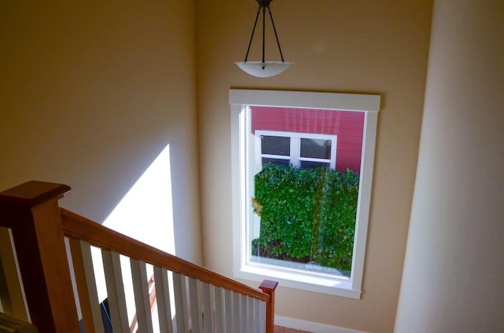 Giant storybook window lets Portland's abundant sunshine fill the house!