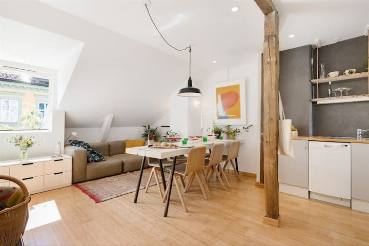 Cosy Loft apartment  | Central near Grunerløkka