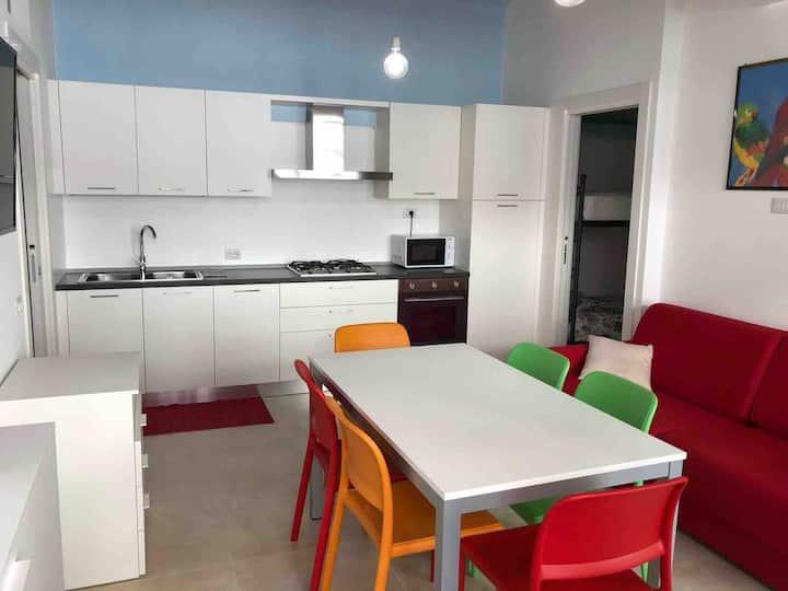 Appartamento moderno 6 p letto  NUOVO !