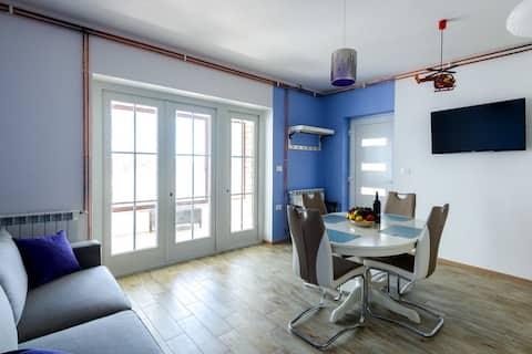 Meerblick Terrasse - Appartement für 2-4 Personen