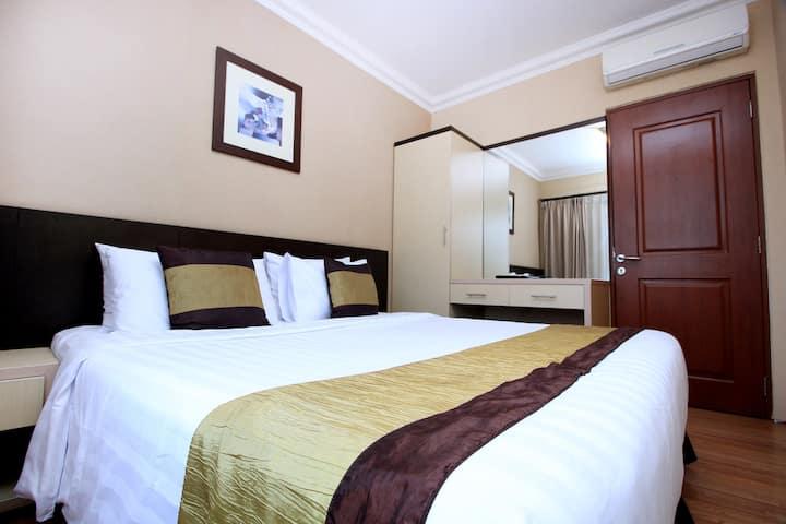 Grand Setiabudi Hotel,2Kmr tidur,city view,Balcony