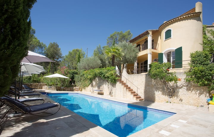 Bastide In South of France with heated pool