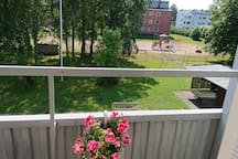 A cozy apartment in the center of Hanko