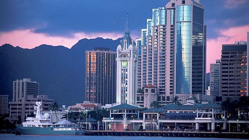 Downtown Honolulu  - Parking Included - Honolulu - Kondominium