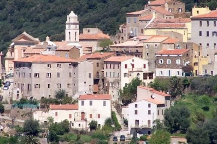 maison Corse du 17eme siècle  en Balagne