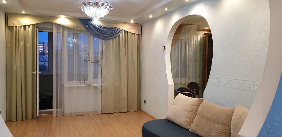 Уютная, тёплая квартира.