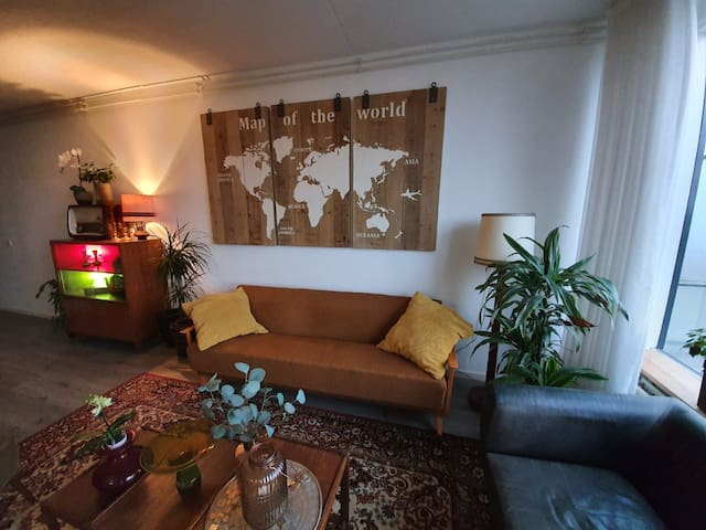 Retro penthouse with an amazing view! City center