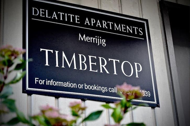 TIMBERTOP 5 @ Delatite Apartments