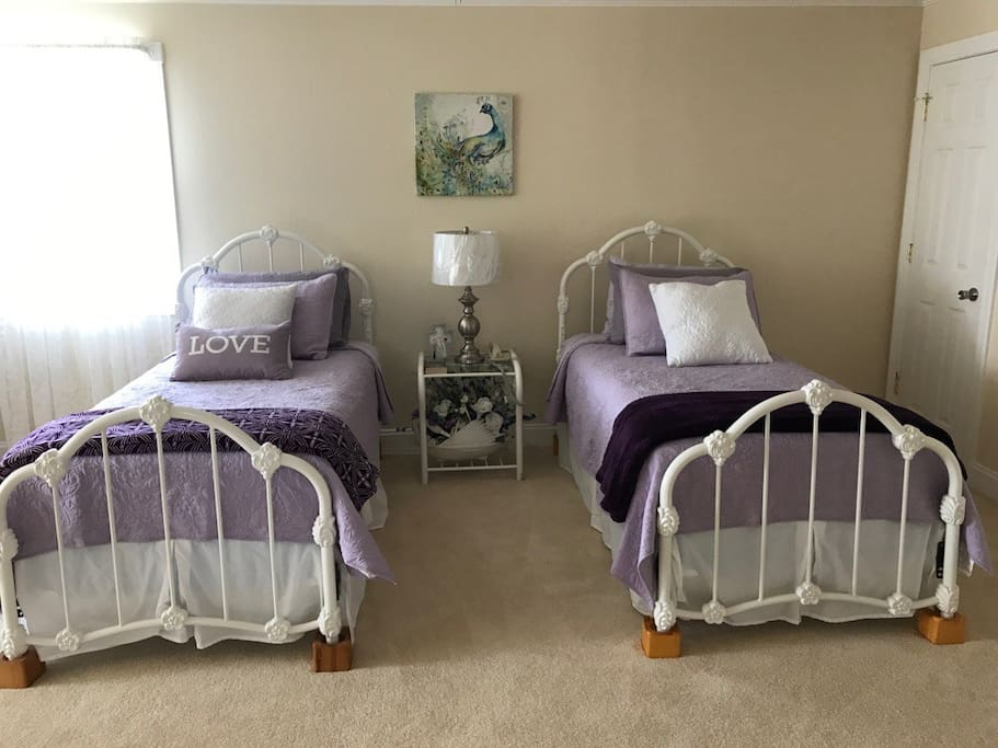 Two single/twin beds