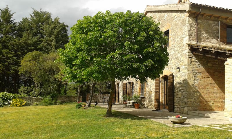 Three rooms with a pool - Todi - Pis
