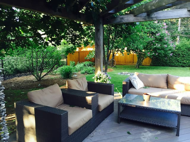 Private Bsmt + Close to Train + Beautiful Setting - King City