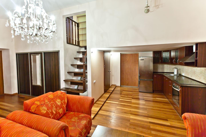 2-bedroom apartment in Gedimino pr.