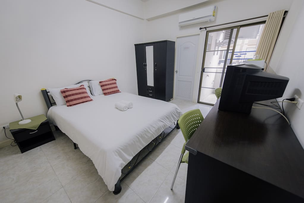 Bed Room & Comfortable Air condition
