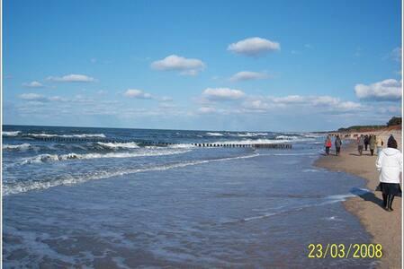Polen Ostsee Strand/Beiges Appartm.