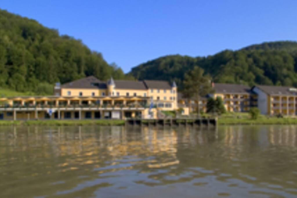 Hotelansicht Wasserseite