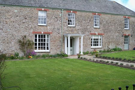 CHARMING WING OF A DEVON FARMHOUSE - Umberleigh - บ้าน