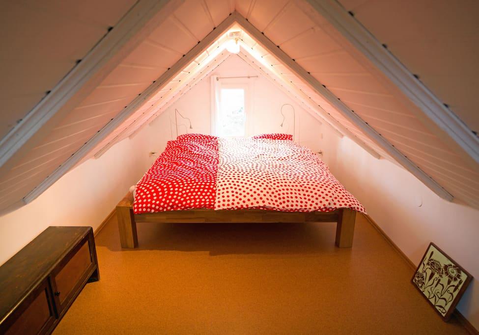 Ein romantisches Schlafzimmer