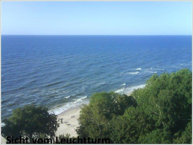 Strand Polen Ostsee /grünes Appart. - Gąski - Lägenhet