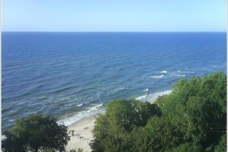 Strand Polen Ostsee /grünes Appart. - Gąski