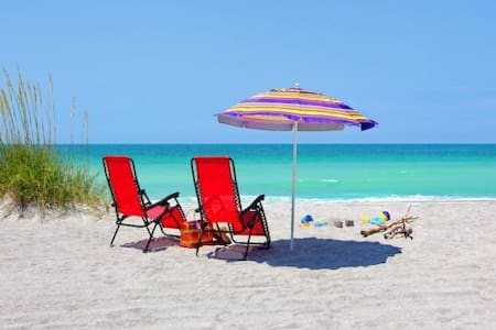 150 yds to Crescent Beach & Pool! - Siesta Key - Villa