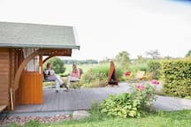 Garten mit Fernblick