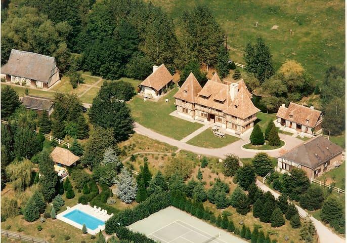 MAGNIFIQUE DOMAINE EN NORMANDIE - Livarot - Castle