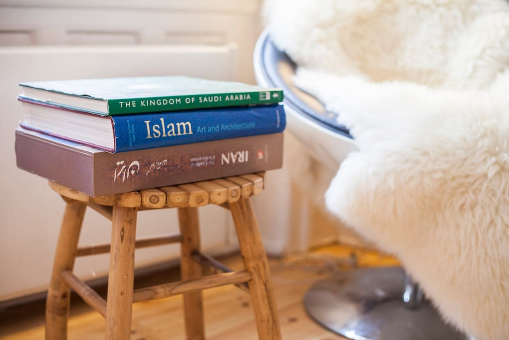 Some of the many books on the Middle East