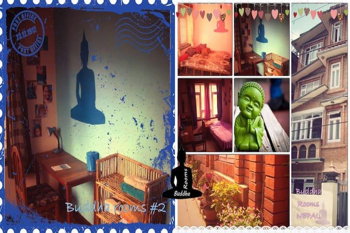Buddha Rooms Blue
