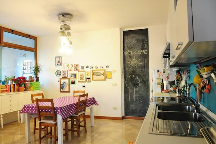 Ground floor apartment. 3 km from Ravenna. Fits 5 - Fornace Zarattini - Apartment