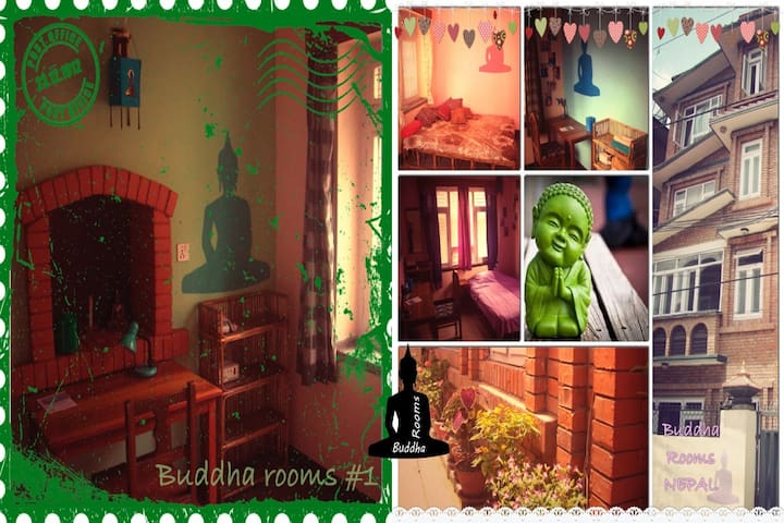 Buddha Rooms Green - Lalitpur - Daire