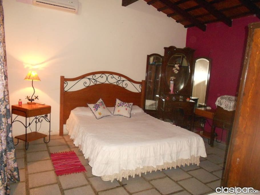 dormitorio matrimonial C/ Aire acondicionado