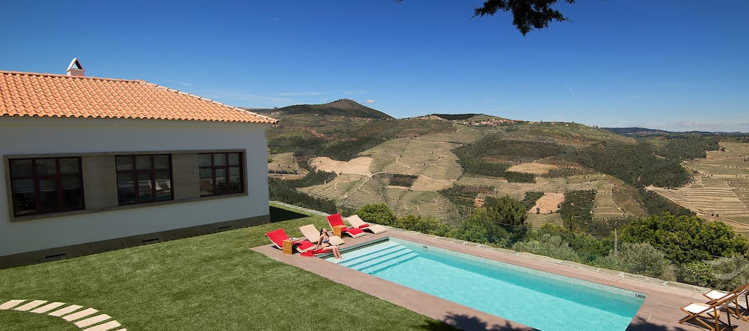 Holiday Villa Douro Valley - The School House - Sabrosa - บ้าน