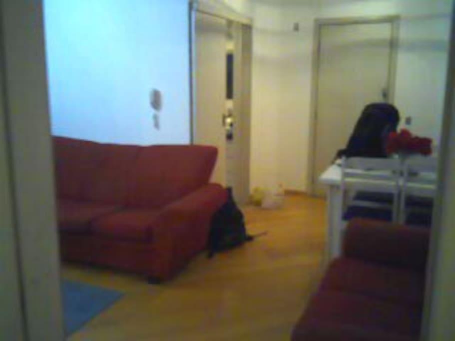 Sala em L dois ambientes!