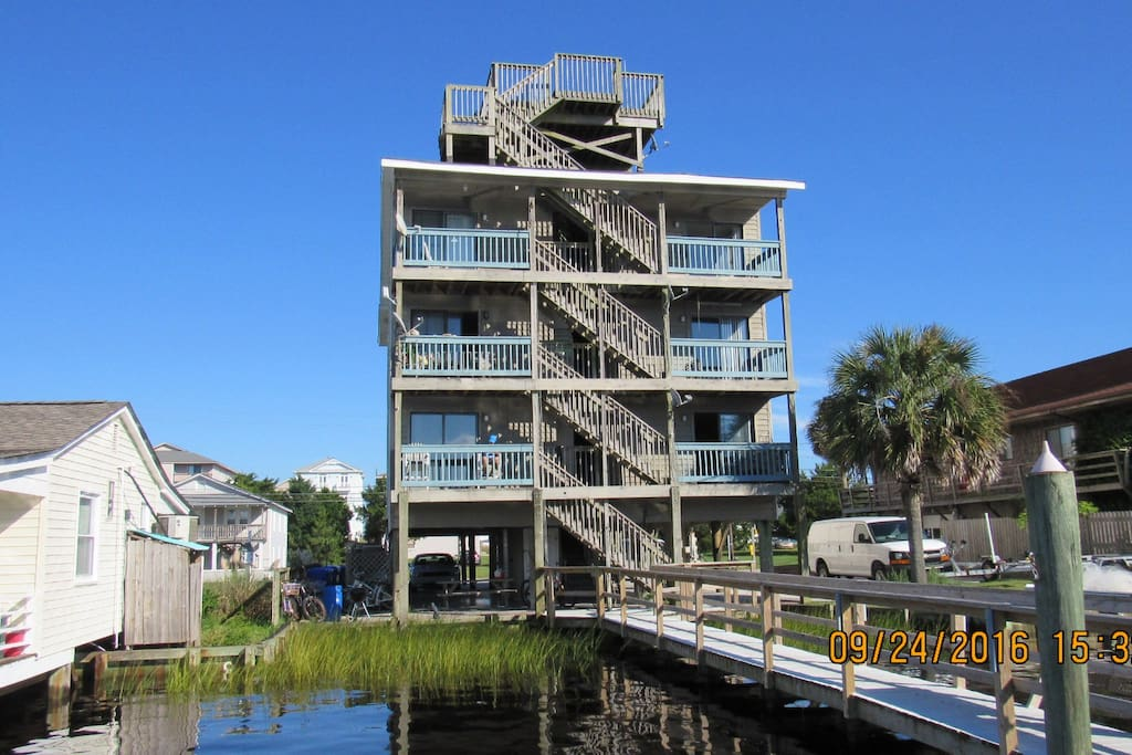 Condo from the waterway